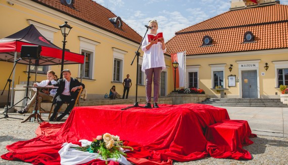 Narodowe Czytanie 2018 w Białymstoku, fot. Joanna Szubzda