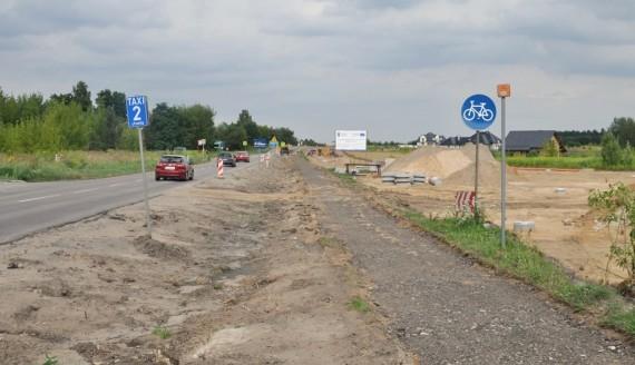 Remont drogi z Białegostoku do Supraśla, fot. Marcin Gliński