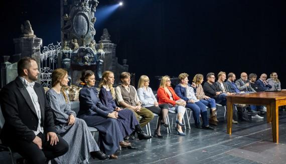 """""""Doktor Żywago"""" w Operze i Filharmonii Podlaskiej - konferencja. fot. Joanna Żemojda"""