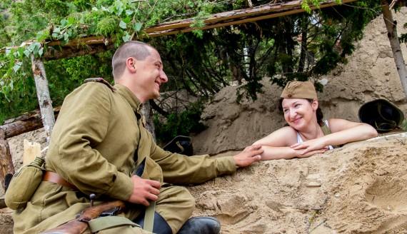 """VIII Piknik Militarny """"Misja Wschód"""" w Ogrodniczkach, fot. Monika Kalicka"""