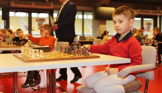 """""""Mój pierwszy turniej szachowy"""" w Białymstoku, fot. Marcin Gliński"""