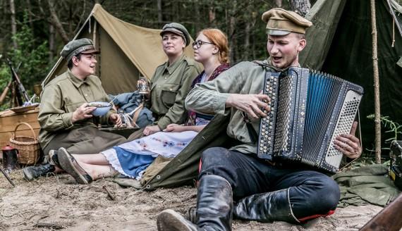 """Piknik Militarny """"Misja Wschód 2017"""", fot. Joanna Żemojda"""