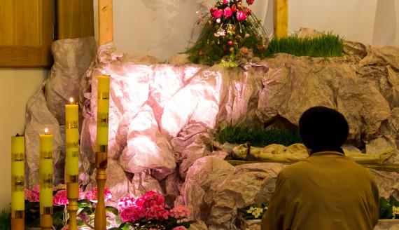 Grób Pański w kościele pw. Ducha Św., fot. Monika Kalicka