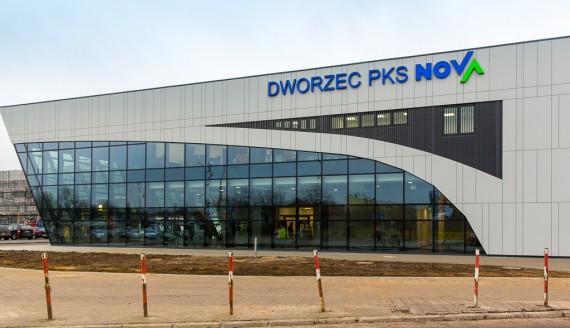 Dworzec PKS Nova Białystok, fot. Monika Kalicka