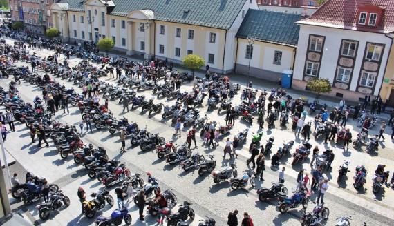 Akcja Motoserce w Białymstoku, fot. Sylwia Krassowska