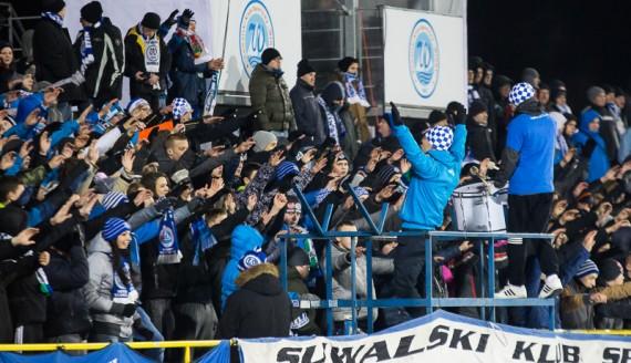 Wigry Suwałki - GKS Jastrzębie 1:1, fot. Joanna Żemojda