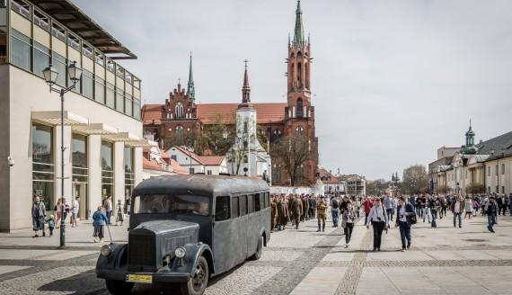Katyński Marsz Cieni w Białymstoku, fot. Joanna Szubzda
