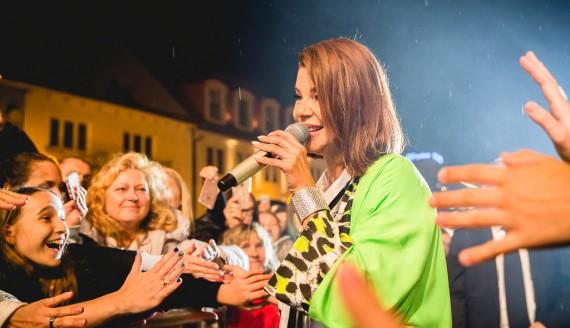 Koncert Edyty Górniak w Białymstoku, fot. Joanna Szubzda