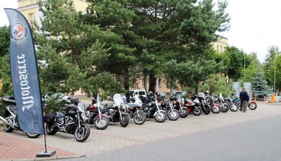 30 czerwca 2018, MotoSerce - zbiórka krwi przed RCKiK w Białymstoku, fot. Marcin Mazewski