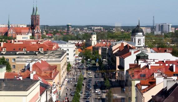 Punkt widokowy na wieży kościoła Św. Rocha w Białymstoku, fot. Joanna Żemojda