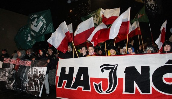 II Hajnowski Marsz Żołnierzy Wyklętych, fot. Sylwia Krassowska