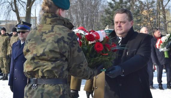 W Suwałkach uczczono pamięć Żołnierzy Wyklętych, fot. Marcin Kapuściński