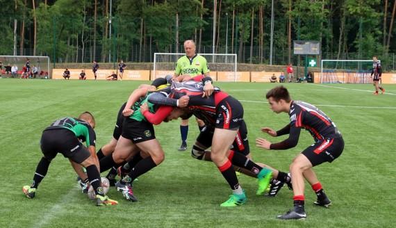 30 czerwca 2018 r. - Finałowy Turniej Pucharu Polski w Rugby 7' w Białymstoku, fot. Marcin Mazewski