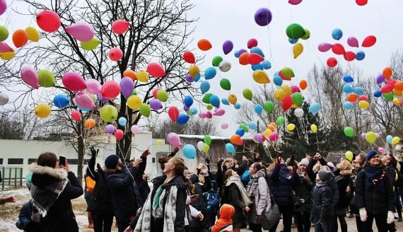 Międzynarodowy Dzień Dziecka z Chorobą Nowotworową w Białymstoku, fot. Sylwia Krassowska
