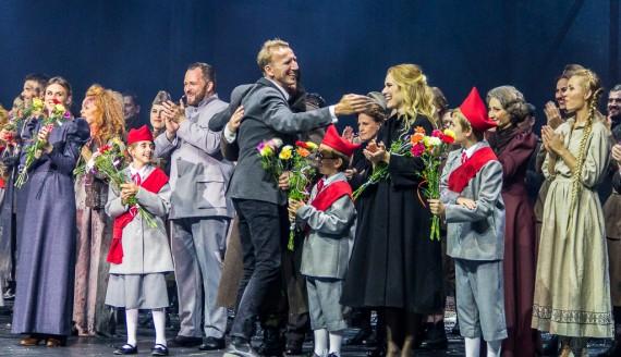 """Premiera musicalu """"Doktor Żywago"""" w Operze i Filharmonii Podlaskiej, fot. Monika Kalicka"""
