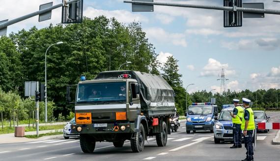 Akcja wydobycia niewybuchu w Białymstoku, fot. Joanna Żemojda
