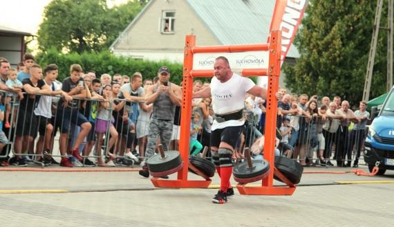 18 sierpnia 2018, Bitwa o Centrum Europy Strongman Cup w Suchowoli, fot. Marcin Mazewski