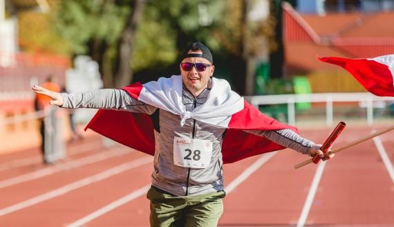Sztafeta 100 km na 100-lecie, fot. Joanna Szubzda