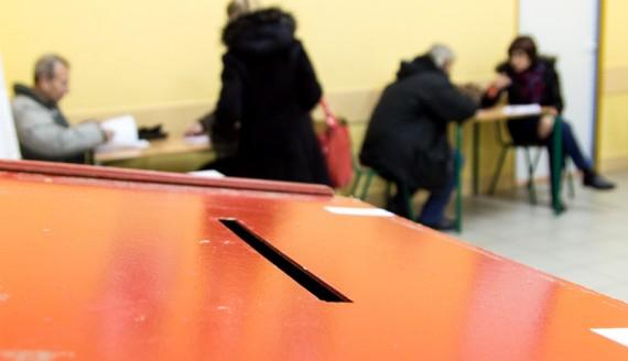 Wybory samorządowe 2014, Białystok, fot. Joanna Żemojda