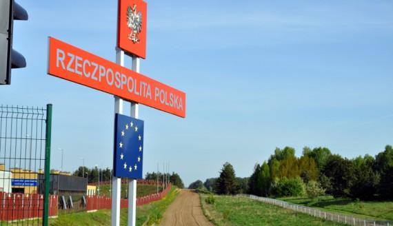 Polsko-białoruskie przejście graniczne w Kuźnicy, fot. Wojciech Szubzda