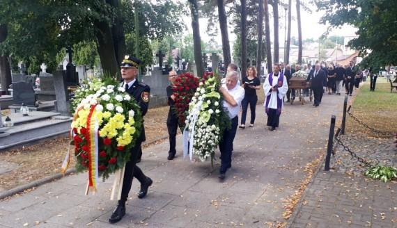 Pogrzeb Jarosława Dziemiana, fot. Wojciech Szubzda