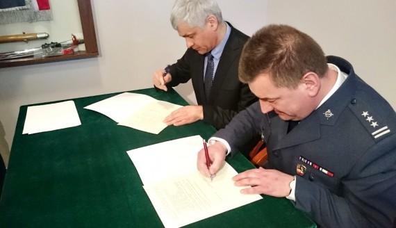 Bohdan Paszkowski i płk Piotr Kondraciuk, fot. Grzegorz Pilat