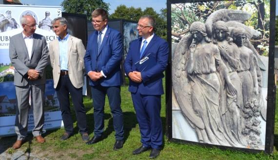 Szczepan Ołdakowski, Bogdan Dyjuk, Jerzy Leszczyński i Cezary Mielko, fot. Marcin Kapuściński