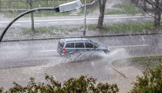Burza w Białymstoku, fot. Joanna Żemojda