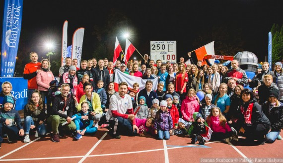 """Sztafeta """"100 km na 100-lecie"""", fot. Joanna Szubzda"""