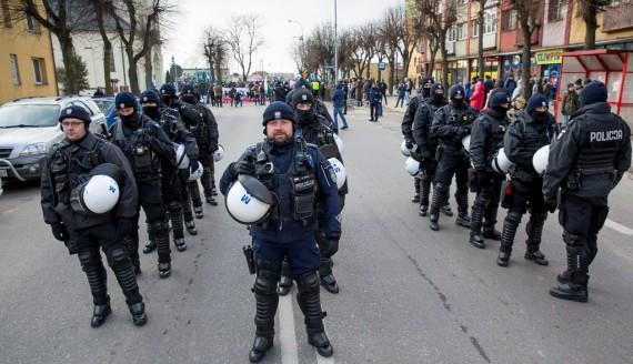 III Hajnowski Marsz Pamięci Żołnierzy Wyklętych, fot. Joanna Szubzda