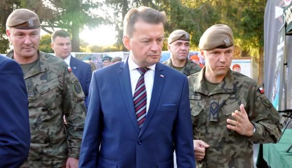 Wizyta ministra Mariusza Błaszczaka w Suwałkach, fot. Marcin Kapuściński