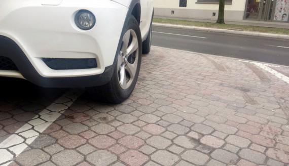 Parking w Białymstoku, fot. Edyta Wołosik