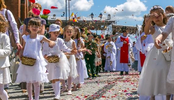 Uroczystość Bożego Ciała w Białymstoku, fot. Joanna Żemojda