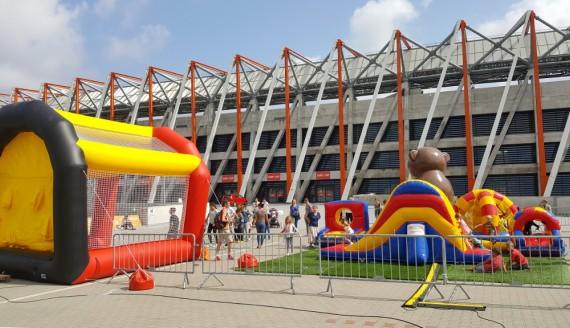 Wakacje na Stadionie Miejskim w Białymstoku, fot. Adam Janczewski