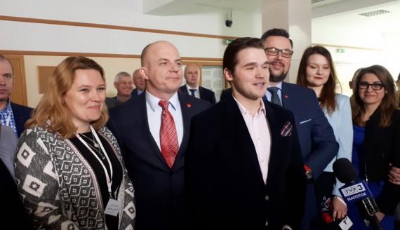 Piotr Kusznieruk nowym przewodniczącym SLD w Podlaskie, fot. Renata Reda