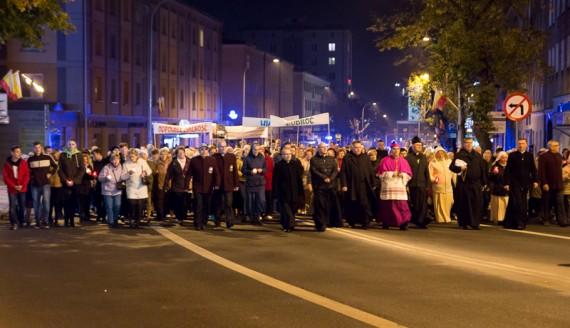Dni Patronalne w Białymstoku, procesja z relikwiami bł. ks. Michała Sopoćki, fot. Joanna Żemojda