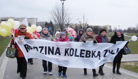 Marsz dla życia i rodziny w Łomży, fot. Adam Dąbrowski