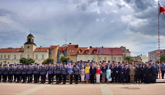 Święta Policji w Łomży, fot. Paweł Wądołowski