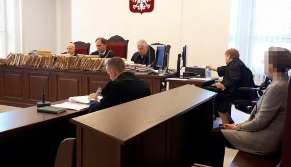 Sprawa b. księgowej PZDW przed Sądem Okręgowym w Białymstoku, fot. Marta Nazarko