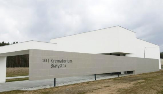 Krematorium przy ul. Ciołkowskiego w Białymstoku, fot. Ryszard Minko