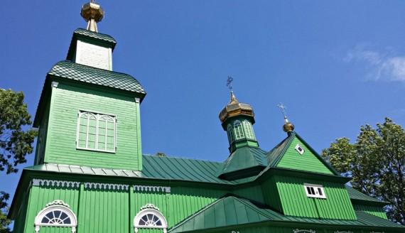 Cerkiew św. Michała Archanioła w Trześciance, foto: Olga Gordiejew