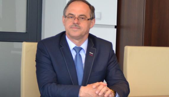 Prezydent Suwałk Czesław Renkiewicz - fot. Marcin Kapuściński