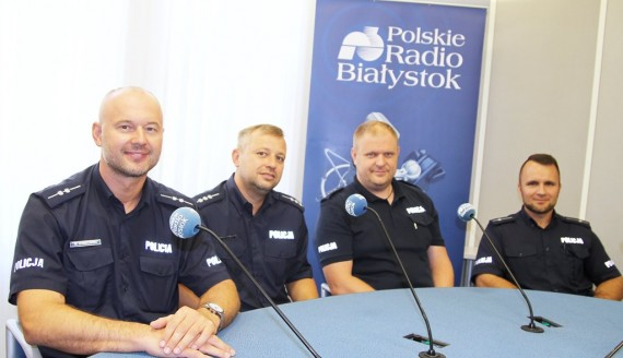 Wojciech Kosikowski, Michał Wilczyński, Tomasz Organek i Tomasz Staworko, fot. Marcin Mazewski