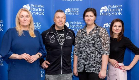 Marta Czauż, Piotr Pejko, Anna Łuniewska, Angelika Dorf, fot. Joanna Szubzda