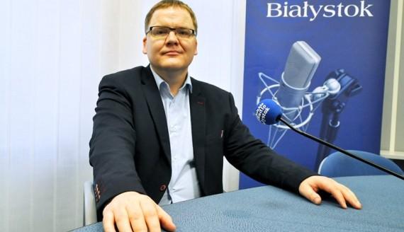 dr Karol Łapiński, fot. Marcin Mazewski