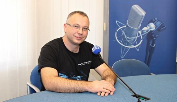 Cezary Mielko, fot. Wojciech Szubzda