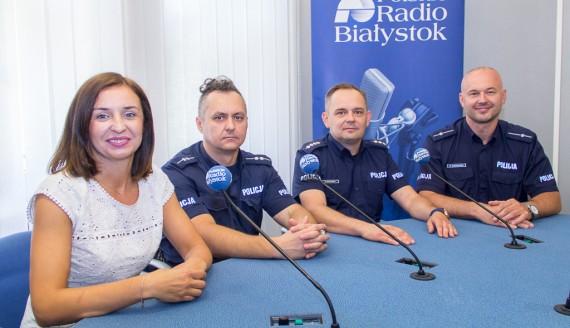 Katarzyna Gromadzka, Mariusz Bierdzio, Rafał Kotowicz i Wojciech Kosikowski, fot. Monika Kalicka