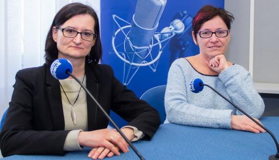 Agnieszka Rzosińska i Katarzyna Kuźniak, fot. Monika Kalicka