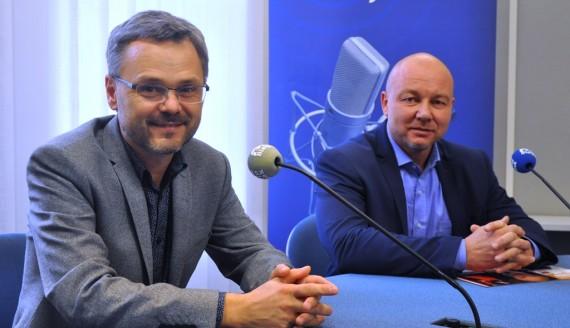 Dariusz Kuć i Arnold Sobolewski, fot. Marcin Gliński