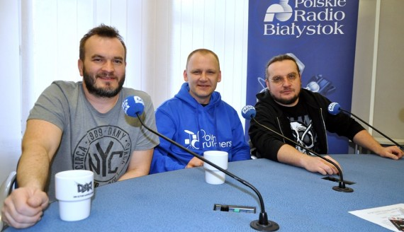 Mariusz Mocarski, Krzysztof Dziedzic, Maciej Nowak, fot. Marcin Mazewski